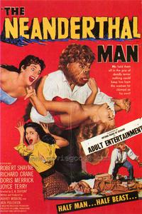 Neanderthal Man - 43 x 62 Movie Poster - Bus Shelter Style A