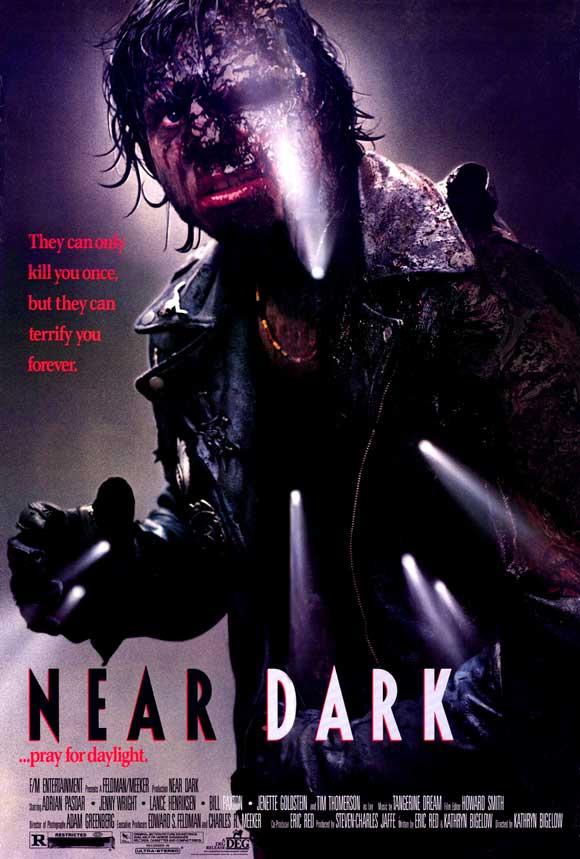 movie poster shop presents the top 100 best vampire movie posters near dark 1987. Black Bedroom Furniture Sets. Home Design Ideas