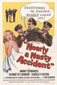 Nearly a Nasty Accident - 11 x 17 Movie Poster - Style A