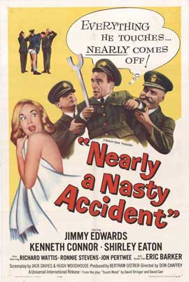 Nearly a Nasty Accident - 27 x 40 Movie Poster - Style A
