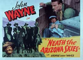 'Neath the Arizona Skies - 11 x 14 Movie Poster - Style A