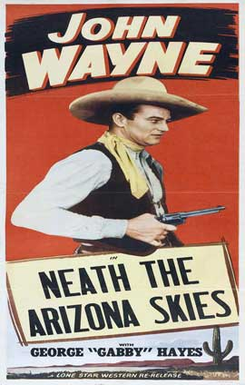 'Neath the Arizona Skies - 11 x 17 Movie Poster - Style B