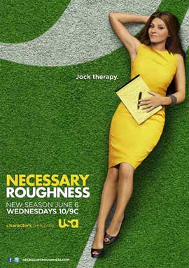 Necessary Roughness (TV) - 11 x 17 TV Poster - Style A