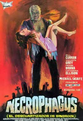 Necrophagus - 11 x 17 Movie Poster - Spanish Style A