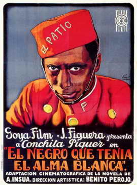 El Negro Que Tenia el Alma Blanca - 11 x 17 Movie Poster - Spanish Style B