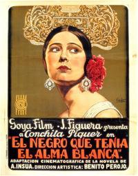El Negro Que Tenia el Alma Blanca - 27 x 40 Movie Poster - Spanish Style A