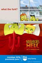 Neighbors from Hell (TV) - 11 x 17 TV Poster - Style A