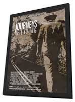 Neil Young Journeys - 27 x 40 Movie Poster - Style A - in Deluxe Wood Frame
