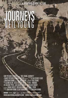 Neil Young Journeys - 11 x 17 Movie Poster - Style A