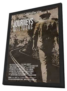 Neil Young Journeys - 11 x 17 Movie Poster - Style A - in Deluxe Wood Frame