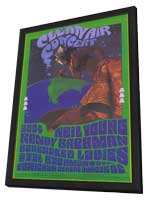 Neil Young/Randy Bachman - 11 x 17 Music Poster - Style A - in Deluxe Wood Frame