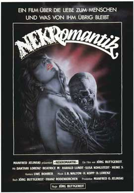 Nekromantik - 11 x 17 Movie Poster - German Style A