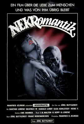 Nekromantik - 27 x 40 Movie Poster - German Style A