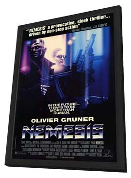 Nemesis - 11 x 17 Movie Poster - Style A - in Deluxe Wood Frame
