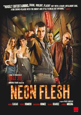 Neon Flesh - 11 x 17 Movie Poster - French Style A