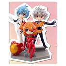 Neon Genesis Evangelion: Death & Rebirth - Movie Petit Eva Mini-Figure 9-Pack
