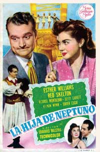 Neptune's Daughter - 11 x 17 Movie Poster - Spanish Style A