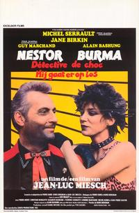 Nestor Burma, Shock Detective - 27 x 40 Movie Poster - Belgian Style A