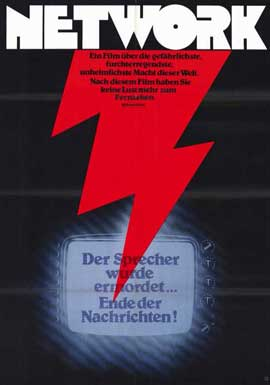 Network - 11 x 17 Movie Poster - German Style A