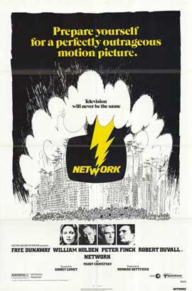 Network - 11 x 17 Movie Poster - Style E