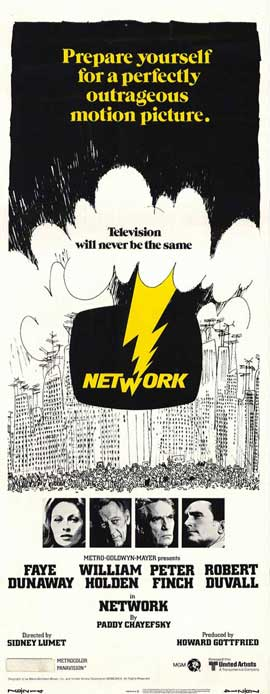 Network - 14 x 36 Movie Poster - Insert Style A