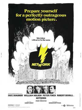 Network - 27 x 40 Movie Poster