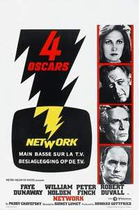Network - 11 x 17 Movie Poster - Belgian Style A