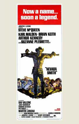 Nevada Smith - 11 x 17 Movie Poster - Style B