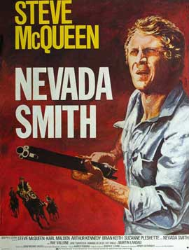 Nevada Smith - 27 x 40 Movie Poster - French Style C