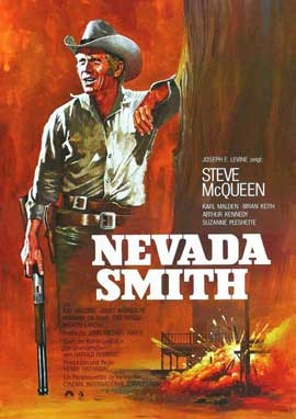 Nevada Smith - 11 x 17 Movie Poster - German Style D