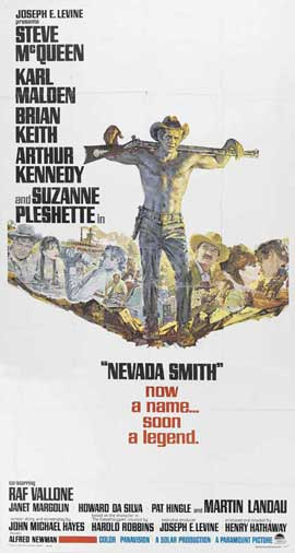 Nevada Smith - 20 x 40 Movie Poster - Style A