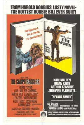 Nevada Smith/Carpetbaggers - 11 x 17 Movie Poster - Style A