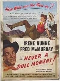 Never a Dull Moment - 27 x 40 Movie Poster - Style A