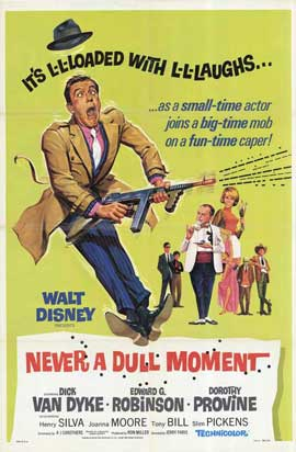 Never a Dull Moment - 11 x 17 Movie Poster - Style B