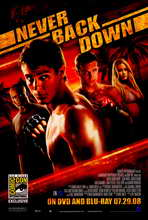 Never Back Down - 11 x 17 Movie Poster - Style B