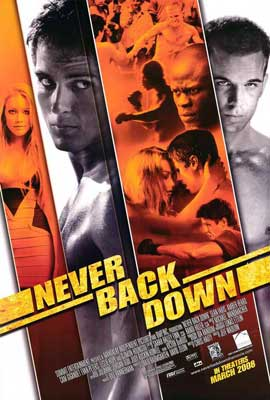 Never Back Down - 27 x 40 Movie Poster - Style A