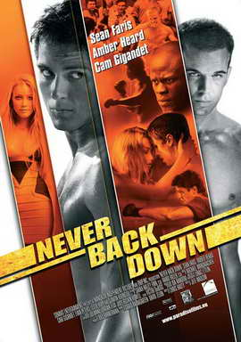 Never Back Down - 27 x 40 Movie Poster - Belgian Style A