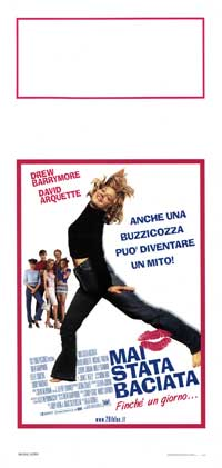 Never Been Kissed - 13 x 28 Movie Poster - Italian Style A