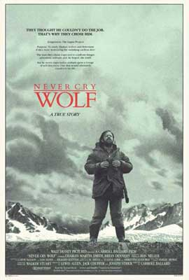 Never Cry Wolf - 27 x 40 Movie Poster - Style A