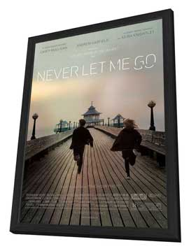 Never Let Me Go - 27 x 40 Movie Poster - Style A - in Deluxe Wood Frame