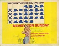 Never on Sunday - 11 x 14 Movie Poster - Style A