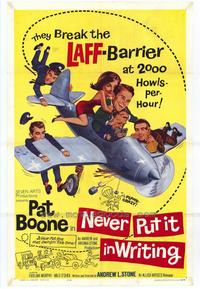 Never Put It In Writing - 27 x 40 Movie Poster - Style A