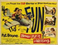 Never Put It In Writing - 22 x 28 Movie Poster - Half Sheet Style A