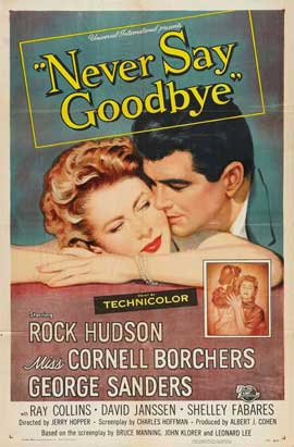 Never Say Goodbye - 27 x 40 Movie Poster - Style A