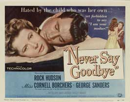 Never Say Goodbye - 11 x 14 Movie Poster - Style C