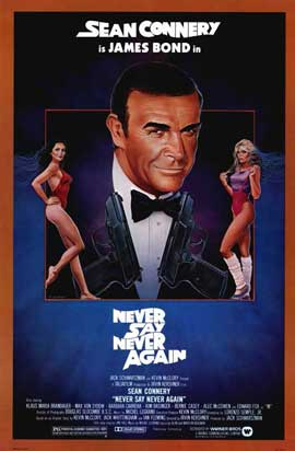 Never Say Never Again - 11 x 17 Movie Poster - Style A
