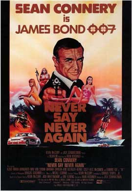 Never Say Never Again - 11 x 17 Movie Poster - Style B