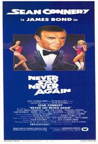 Never Say Never Again - 11 x 17 Movie Poster - Style D