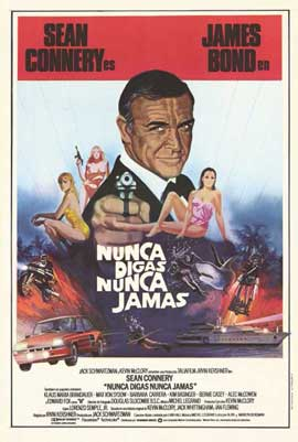 Never Say Never Again - 11 x 17 Movie Poster - Spanish Style A