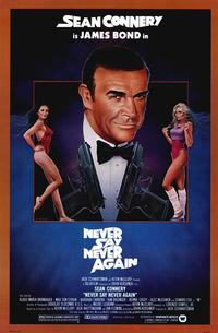 Never Say Never Again - 43 x 62 Movie Poster - Bus Shelter Style A